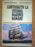 N. Bardeanu, D. Nicolaescu – Contributii la istoria marinei romane 1