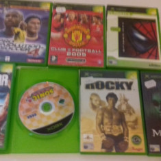 LOT 7 JOCURI  XBOX - Cold Fear - Rocky - Spider Man [Second hand], Actiune, 12+, Multiplayer