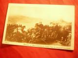 Ilustrata -Pictura Aman- Batalia lui Mihai Viteazul cu Sinan Pasa ,Ed.Cartea Rom, Necirculata, Printata