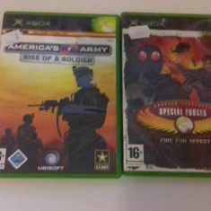 LOT 2 JOCURI  XBOX - Rise of a soldier - CT Special Forces [Second hand], Shooting, 12+, Multiplayer