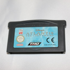 [GBA] Atlantis The Lost Empire - Gameboy Advance