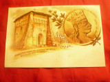 Ilustrata -Paraclisul zidit de Stefan cel Mare pe locul Bataliei de la Razboieni, Necirculata, Printata