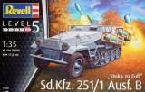 + Macheta 1/35 Revell 03248 - Sd.Kfz. 251/1 Ausf.B Stuka zu Fuss +