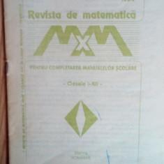 Revista de matematica pentru completarea manualelor scolare Clasele I-XII / 1994