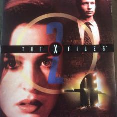 THE  X FILES  2 - COMPLETE SECOND SEASON ( 7 DISC ) - FILM DVD ORIGINAL