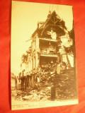 2 Ilustrate- Distrugerea Orasului Arras de catre germani ww1 Franta, Necirculata, Printata