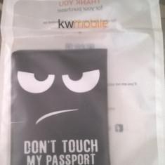 """Husa pasaport """"Don't touch my passport"""""""