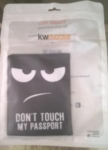 Husa pasaport Don't touch my passport