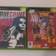 LOT 2 JOCURI  XBOX -XIII - True Crime [Second hand], Actiune, 12+, Multiplayer