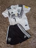 Compleu copii Germania ,Model nou 2018-2019, YL, YM, YS, YXL, YXS, Set echipament fotbal, Adidas