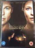 THE CURIOUS CASE OF BENJAMIN BUTTON   - FILM DVD ORIGINAL, Engleza, warner bros. pictures