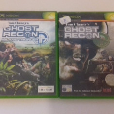 LOT 2 JOCURI  XBOX -Ghost Recon  [Second hand], Shooting, 12+, Multiplayer