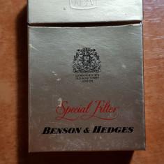 ambalaj tigari benson & hedges din anii '70-'80 - de colectie