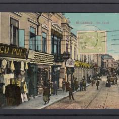 BUCURESTI  STRADA CAROL I  HOTEL DACIA  COFETARIA  MAGAZINE  TCV  CIRCULATA 1906, Printata