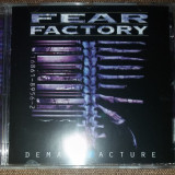 """Fear Factory - """"Demanufacture"""", CD, universal records"""