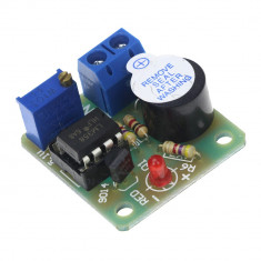 Modul buzzer / Alarma over-discharge baterie 9V / 12V / Li-ion / LiMn / Li-Fe