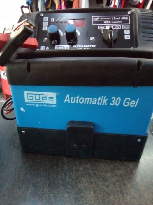 Redresor GUDE Automatik 30 GEL