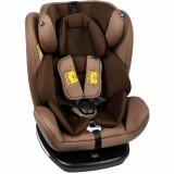 Scaun Auto Tweety cu Isofix Rotativ 360 Grade Coffee 0 - 36 kg, 0-1-2-3 (0-36 kg)