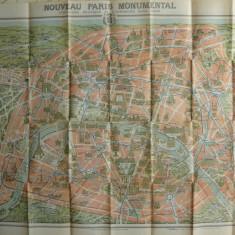 Paris si imprejurimile - Plan Monumental - interbelic