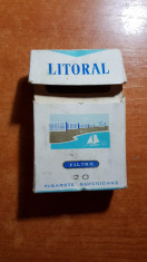ambalaj tigari litoral din anii '70-'80 - de colectie foto