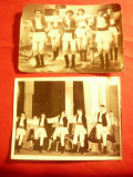 2 Fotografii interbelice - Dansuri Populare , dim.=12x9 cm