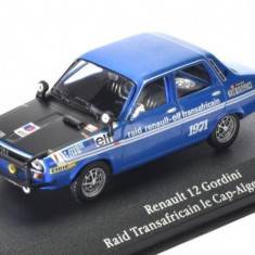 New Originala Dacia 1300 Transafrican, Machete Renault 12 1:43 Saga