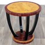 MASUTA ART DECO DIN LEMN MASIV FURNIRUIT  CAT-AD-Side-table, Mese si seturi de masa