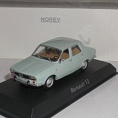 Macheta Dacia 1300 -RENAULT 12 TL 1972 1/43 - NOREV