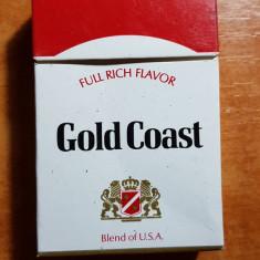 ambalaj tigari gold coast din anii '70-'80 - de colectie