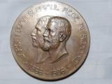 MEDALIE CAROL I DOMN SI REGE - EXPOZITIUNEA GENERALA A ROMANIEI 1906