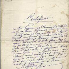 AMS - CERTIFICAT/ DOCUMENT 1888 CU TIMBRU FIXU