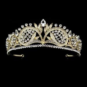 Diadema,tiara aurie