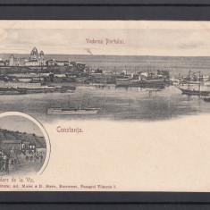 CONSTANTA   VEDEREA  PORTULUI  BAILE DE LA VIC  CLASICA, Necirculata, Printata