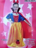 ALBA CA ZAPADA rochita serbare petrecere carnaval COPII, One size