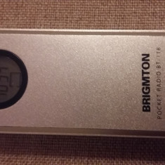 MINI RADIO DIGITAL PLL AM/FM STEREO RECEIVER BRIGMTON BT-118, 0-40 W