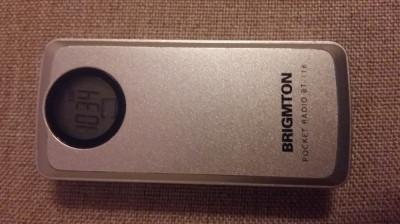 MINI RADIO DIGITAL PLL AM/FM STEREO RECEIVER BRIGMTON BT-118 foto