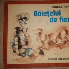 Baietelul de fier 78pag/ilustratii/an 1976/- Mircea Pop