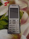 Nokia e50 ca nou cu carcasa originala din fabrica, Argintiu, Nu se aplica, Neblocat