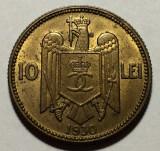 10 Lei 1930 Londra, Romania UNC, Alama