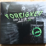 """Foreigner - """"Can't Slow Down... When It's Live"""", CD, universal records"""