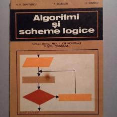 Algoritmi si scheme logice -  M. R .Dumitrescu , P. Vasilescu, V. Ionescu