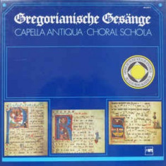 Chants gregoriens - anthologie du chant gregorien ( 4 discuri vinil )