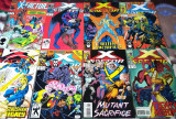 X-FACTOR (Marvel Comics)-Lot 23 reviste benzi desenate