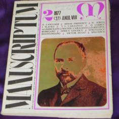 Revista Manuscriptum nr 2 1977 (f3119