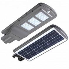 Proiector stradal cu panou solar 60w senzor miscare si lumina