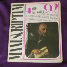 Revista Manuscriptum nr 4 1979 (f3122