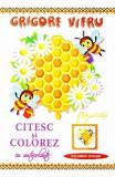 Citesc si colorez cu autocolante: Fagurasi - Grigore Vieru, Grigore Vieru
