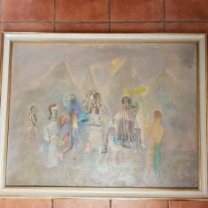 IOAN GANJU - ARTIST IESEAN - OBICEIURI DE ANUL NOU - 1971- ULEI /PANZA