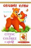 Citesc si colorez cu autocolante: Mama - Grigore Vieru, Grigore Vieru