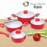 Vase de Bucătărie Ceramic Chef Pan (8 piese)